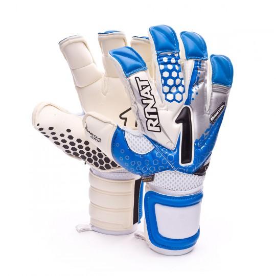 Luvas  Rinat Asimetrik 2.0 Pro Azul-Branco-Cinza