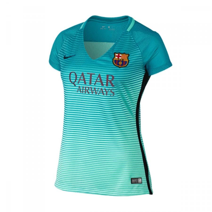 606d3b7580155 Jersey Nike FC Barcelona Mujer Dry Stadium SS 2016-2017 Green  glow-Energy-Black - Football store Fútbol Emotion