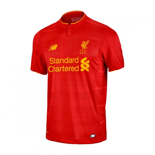 Camiseta  New Balance jr Liverpool FC Home 2016-2017 Red