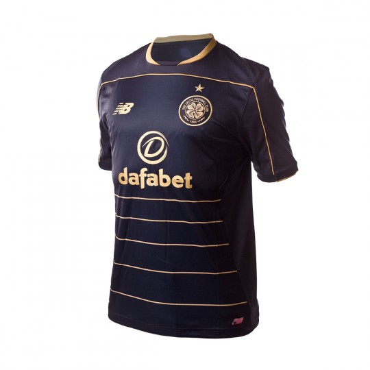 Camiseta  New Balance Celtic FC Away 2016-2017 Black-Gold