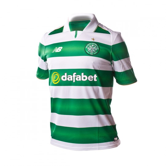 Camiseta  New Balance Celtic FC Home 2016-2017 Green-White