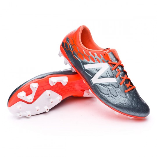 Bota  New Balance Visaro 2.0 Mid Level AG Grey-Alpha orange