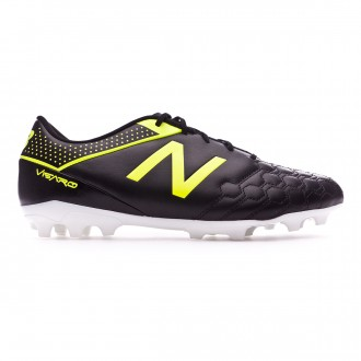 Chaussure de foot New Balance Visaro 1.0 Liga AG Piel Black-Yellow