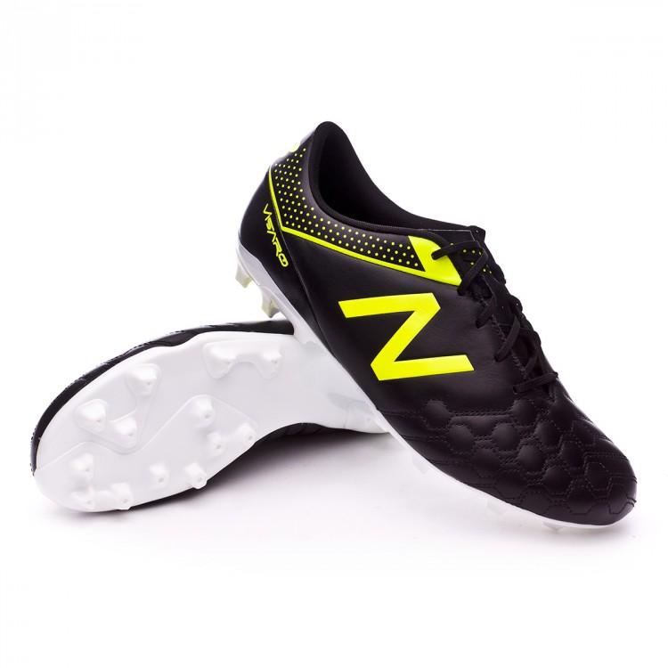 Bota de fútbol New Balance Visaro 1.0 Liga AG Piel Black-Yellow ... 286efbac4c2bb