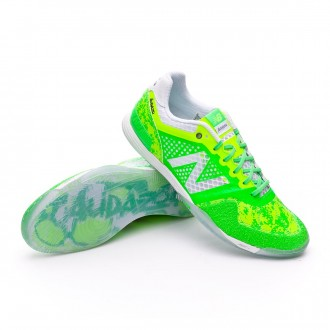 Futsal Boot  New Balance Audazo Pro Futsal Green lime