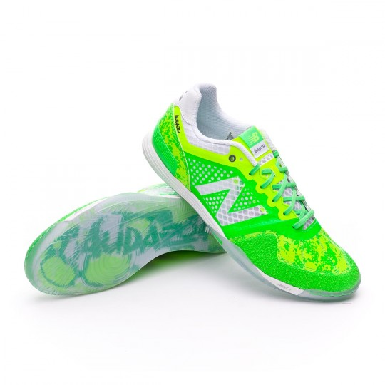 Zapatilla de fútbol sala  New Balance Audazo Pro Futsal Green lime