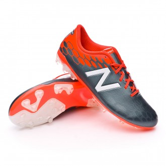 Chaussure  New Balance Jr Visaro 2.0 Control AG Grey-Alpha orange