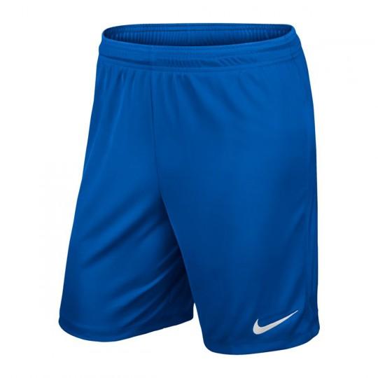Pantalón corto  Nike Park II Knit WB Royal blue