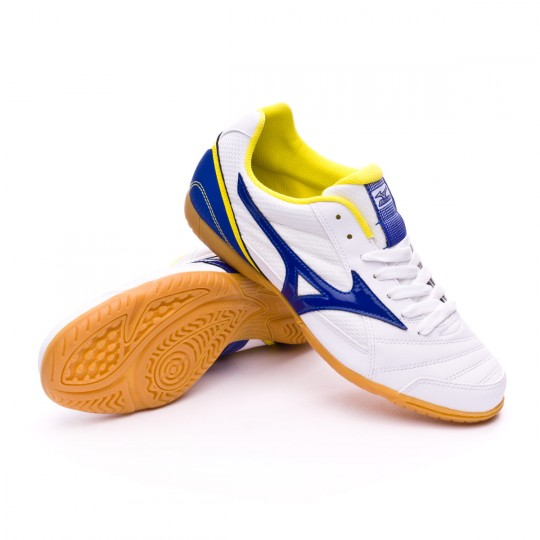 Chaussure de futsal  Mizuno Club 2 IN White-Surf the web