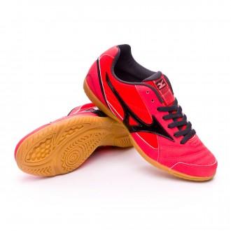 Sapatilha de Futsal  Mizuno Sala Club 2 IN Fiery coral-Black