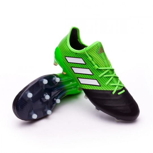 Bota  adidas Ace 17.1 FG Piel Solar green-White-Core black