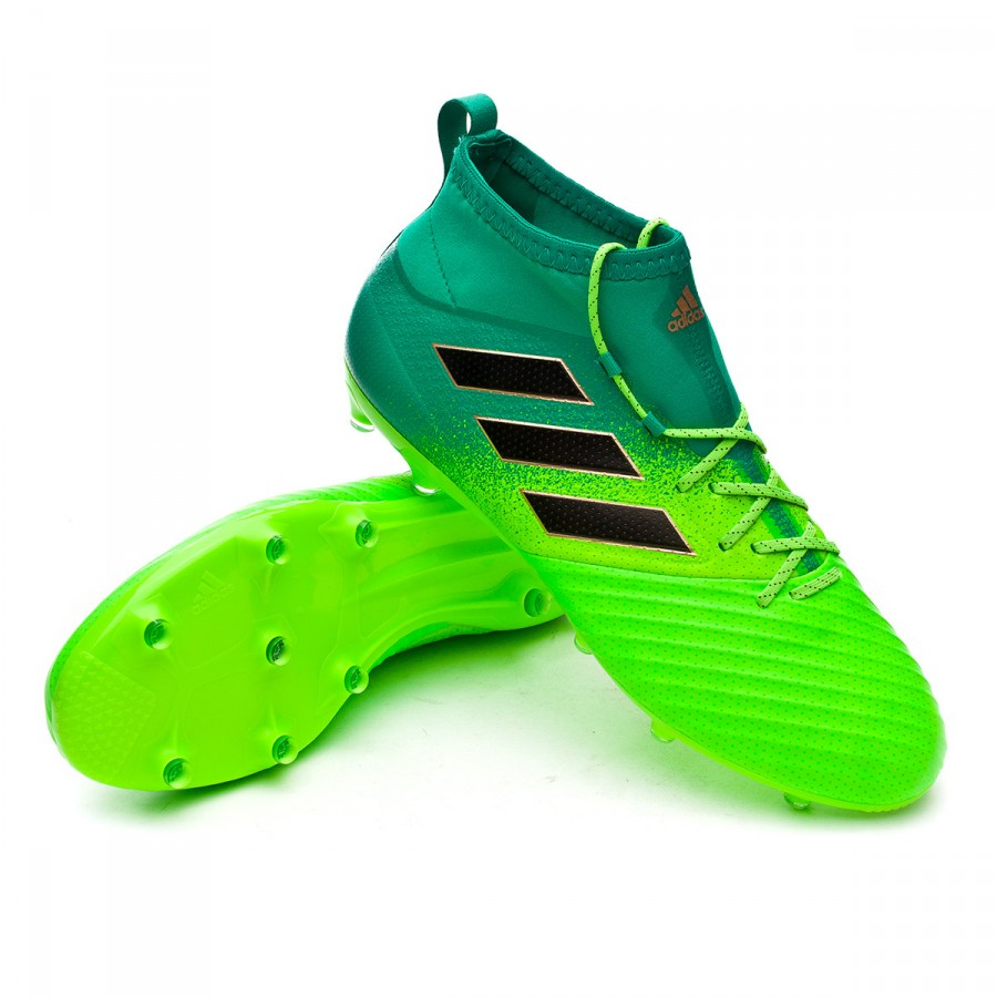 7544b8223c06 Football Boots adidas Ace 17.2 Primemesh FG Solar green-Core black ...