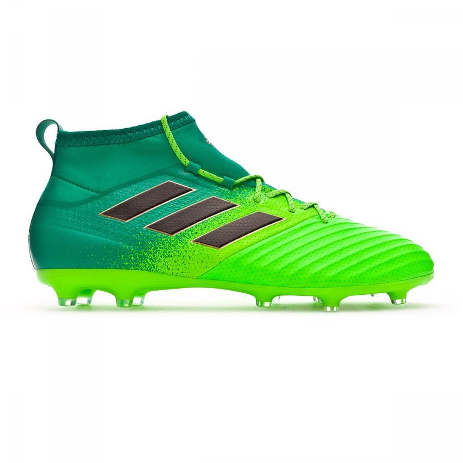 5efc5b74c759 Football Boots adidas Ace 17.2 Primemesh FG Solar green-Core black -  Football store Fútbol Emotion