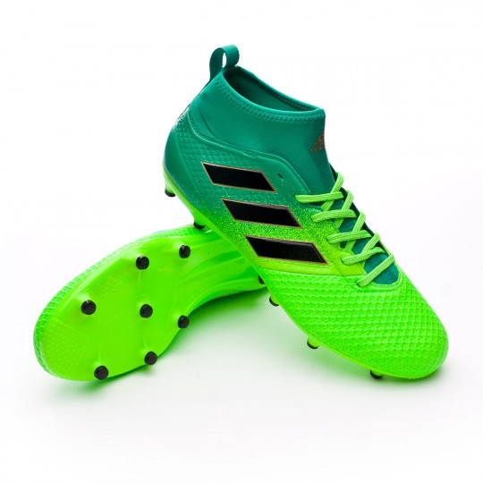 Chaussure  adidas Ace 17.3 Primemesh FG Solar green-Core black