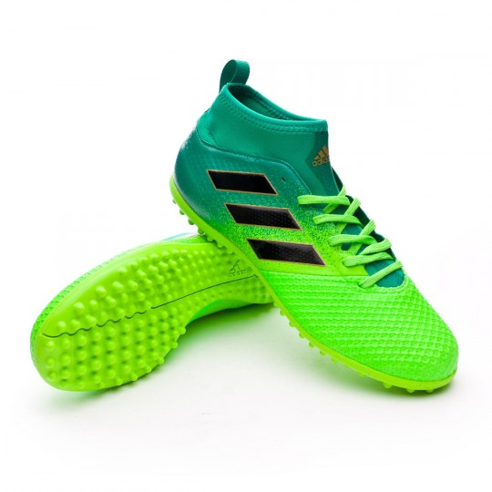 Chaussure  adidas Ace 17.3 Primemesh Turf Solar green-Core black