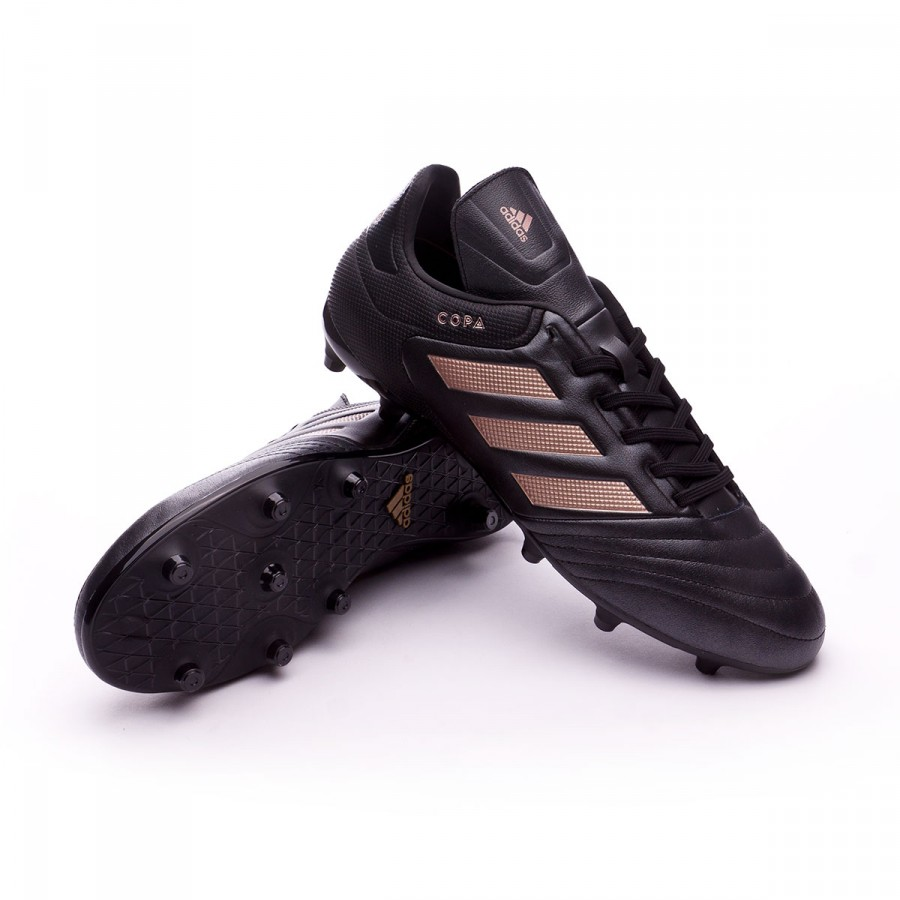 747619fddad3 Football Boots adidas Copa 17.3 FG Core black-Copper metallic ...