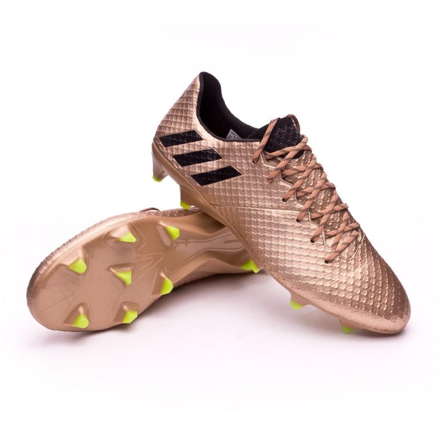 4000346532d Football Boots adidas Messi 16.1 FG Copper metallic-Core black ...