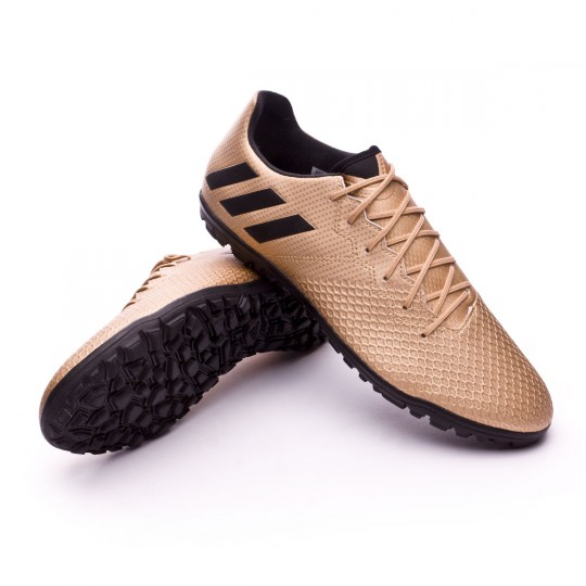 Chaussure  adidas Messi 16.3 Turf Copper metallic-Core black
