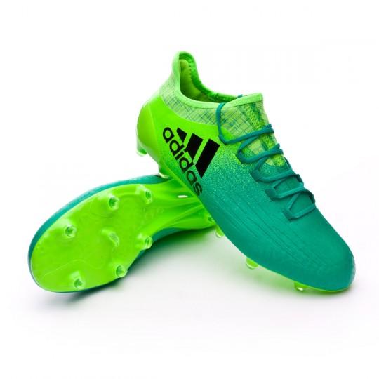 Bota  adidas X 16.1 FG Solar green-Core black