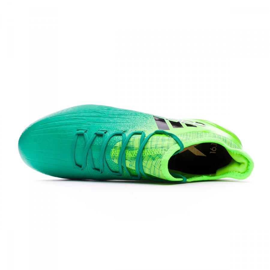 4309c3a3624 Football Boots adidas X 16.1 FG Solar green-Core black - Football store  Fútbol Emotion