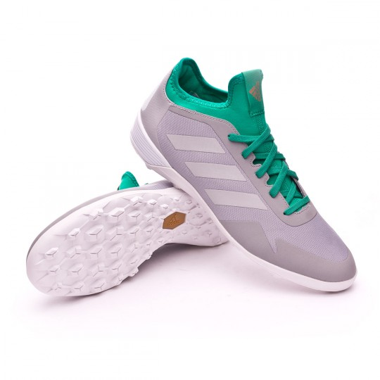 Zapatilla  adidas Ace Tango 17.2 Turf Mid grey-Clear onix-Core green