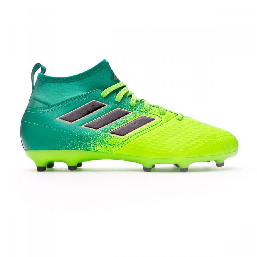 d9781c25182ad Football Boots adidas Jr Ace 17.3 Primemesh FG Solar green-Core black -  Football store Fútbol Emotion