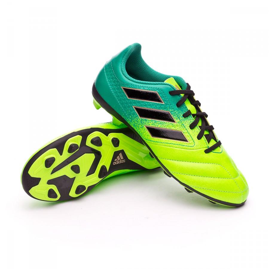 separation shoes 20bfc 06150 Bota de fútbol adidas Ace 17.4 FxG Niño Solar green-Core black -  Soloporteros es ahora Fútbol Emotion