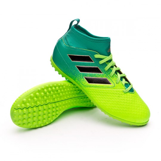 Bota  adidas jr Ace 17.3 Primemesh Turf Solar green-Core black