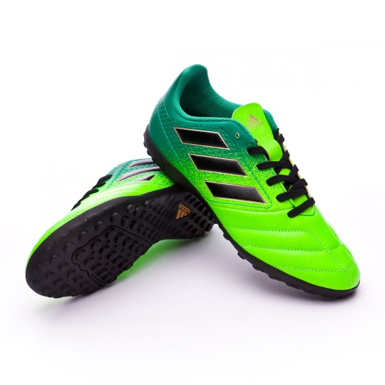 Bota  adidas jr Ace 17.4 Turf Solar green-Core black