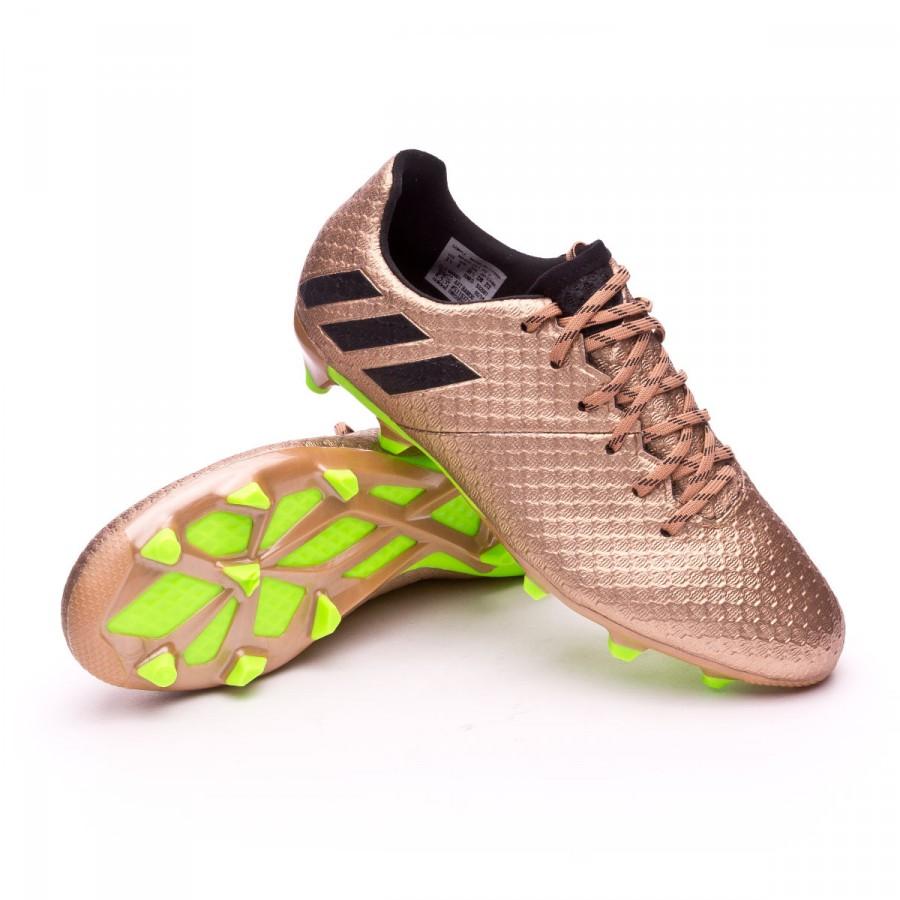 f8d01a3e393 Football Boots adidas Kids Messi 16.1 FG Copper metallic-Core black ...