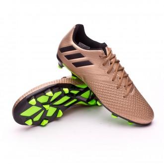 Bota  adidas Messi 16.3 FG Niño Copper metallic-Core black