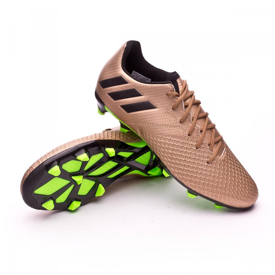promo code 15ada 3cca0 Boot adidas Kids Messi 16.3 FG Copper metallic-Core black - Football store  Fútbol Emotion