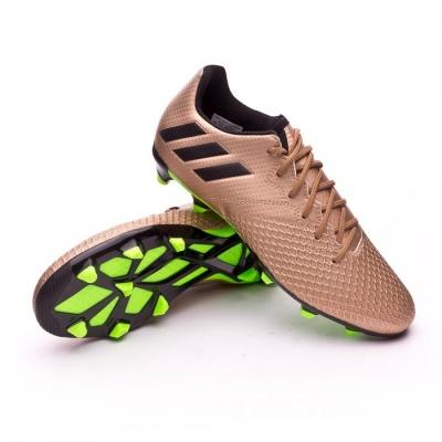 Boot adidas Kids Messi 16.3 FG Copper metallic-Core black - Leaked soccer f70562f357