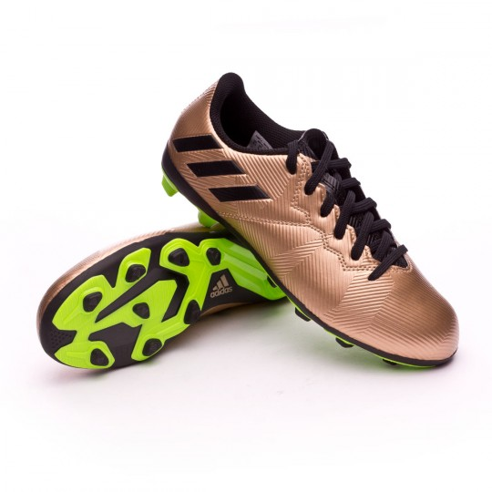 Chuteira  adidas Jr Messi 16.4 FxG Copper metallic-Core black