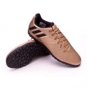 Chuteira  adidas Jr Messi 16.3 Turf Copper metallic-Core black