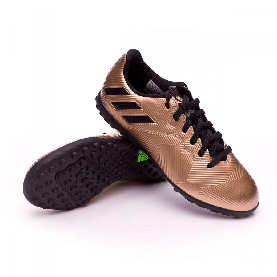 wholesale dealer 074c3 58a09 ... Bota Messi 16.4 Turf Niño Copper metallic-Core black. Categorías de la Bota  de fútbol