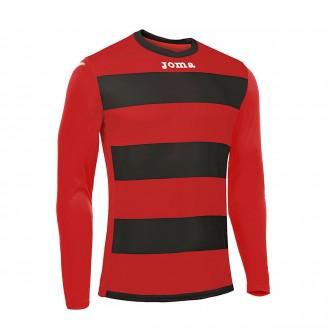 Jersey  Joma LS Europa III Black-Red