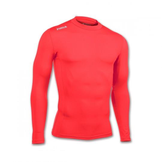 Camiseta  Joma Brama Academy m/l Naranja Flúor