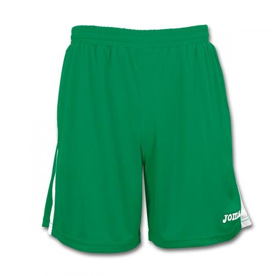 Pantalón corto  Joma Tokio Verde trébol-Blanco