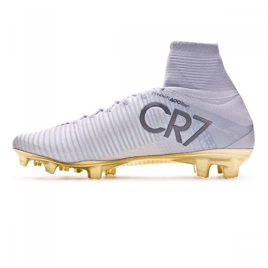 145d9653c Football Boots Nike Mercurial Superfly V CR7 SE Vitorias FG White-Pure  platinum - Tienda de fútbol Fútbol Emotion