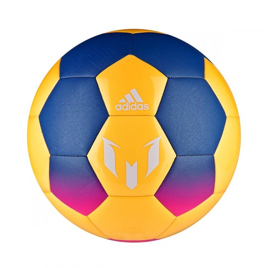 Balón  adidas Messi Blue-Solar orange-Solar pink