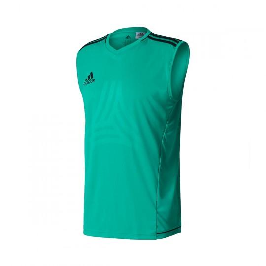 Camiseta  adidas sin mangas Tanc Core green