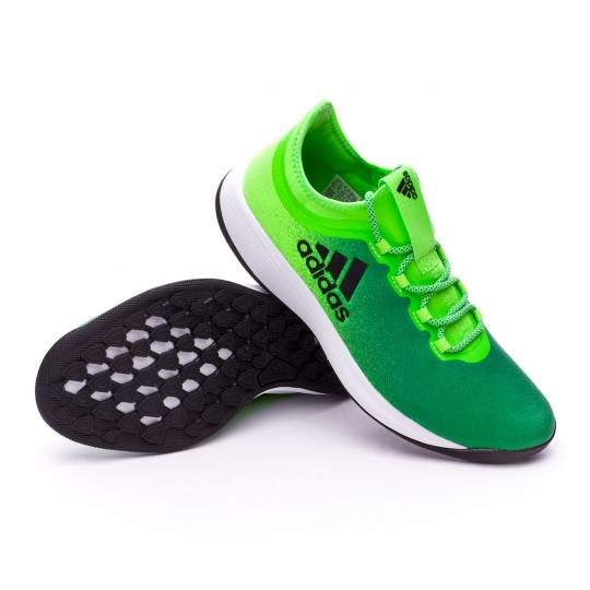 Zapatilla  adidas X Tango 16.2 TR Solar green-Core black-Core green
