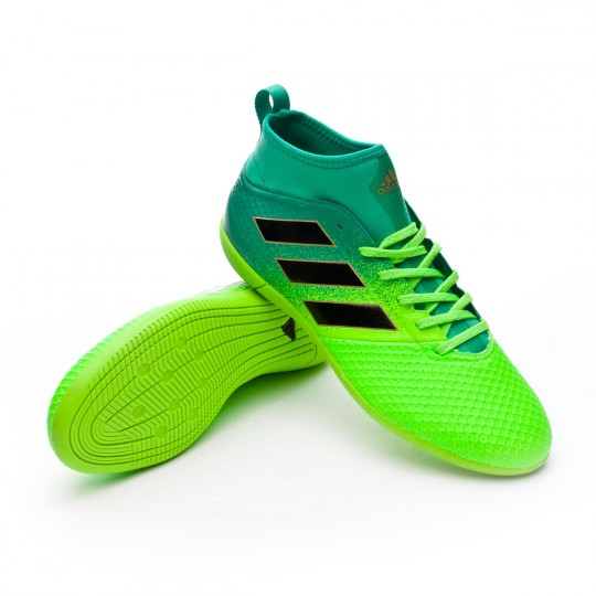 Zapatilla de fútbol sala  adidas Ace 17.3 Primemesh IN Solar green-Core black-Core green