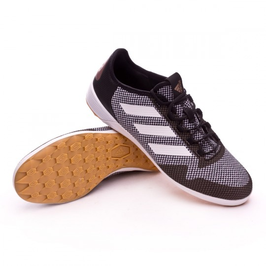Zapatilla de fútbol sala  adidas Ace Tango 17.2 IN Core black-White-Copper metallic