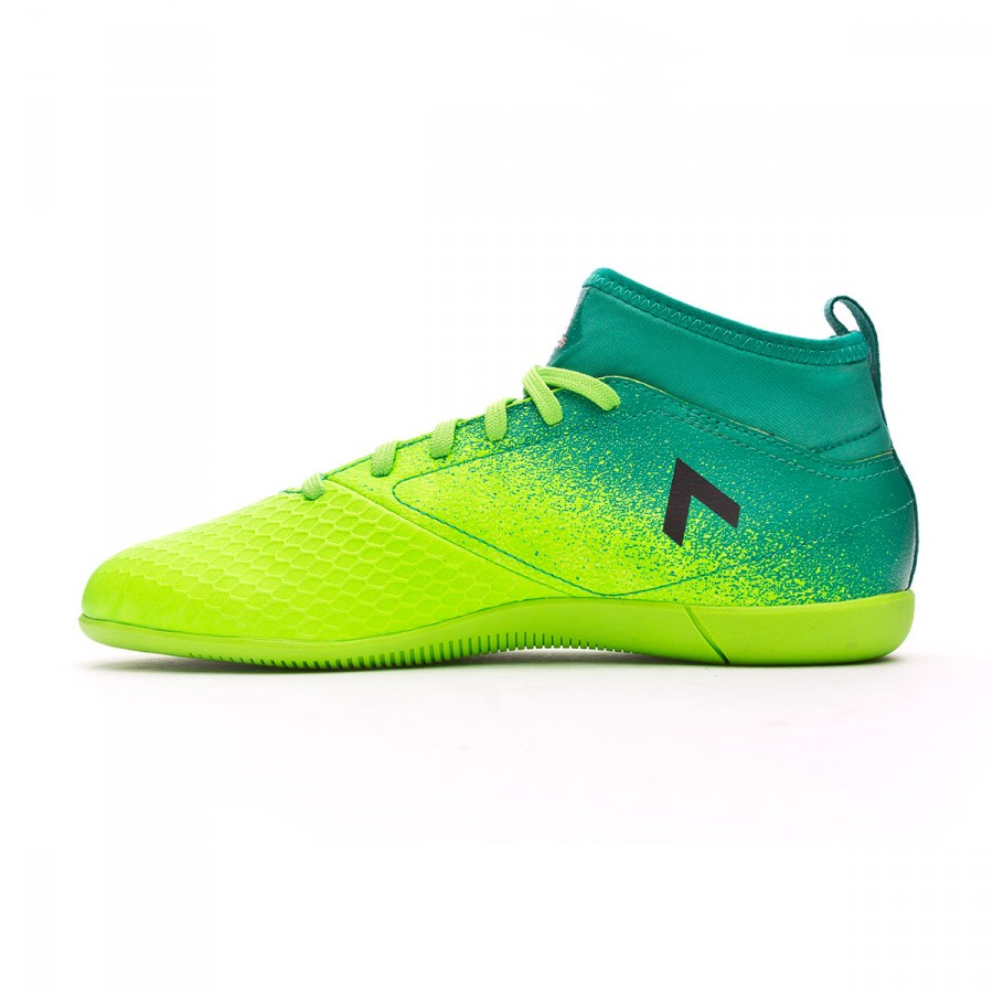 sale retailer fa566 d97b4 Futsal Boot adidas Ace 17.3 Primemesh IN Kids Solar green-Core black-Core  green - Football store Fútbol Emotion