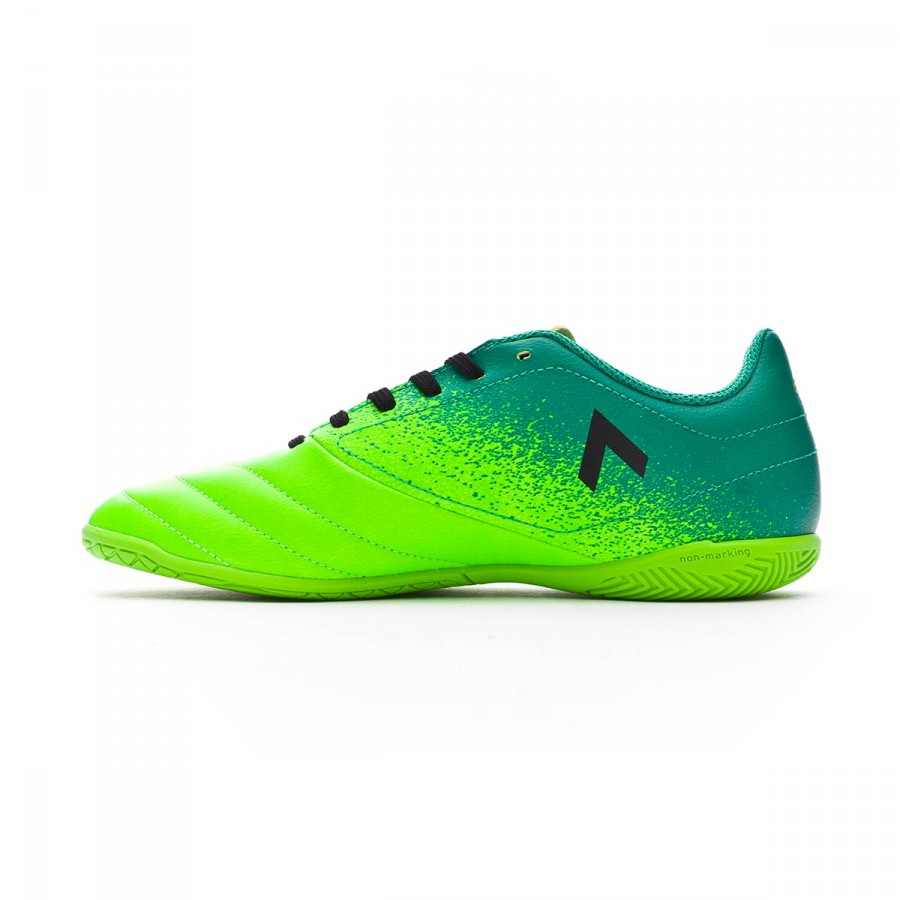 55d977564a70f Tenis adidas Ace 17.4 IN Niño Solar green-Core black-Core green - Tienda de fútbol  Fútbol Emotion