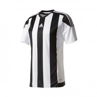 Camisola  adidas Striped 15 m/c Branco-Preto