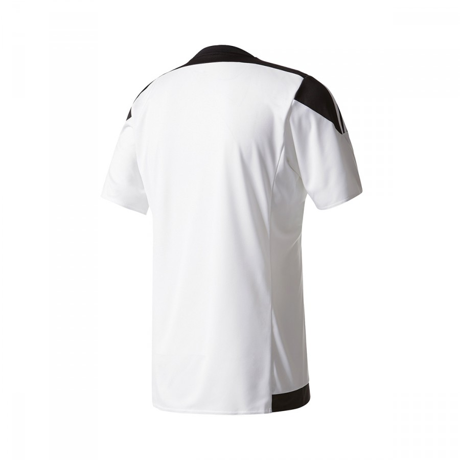63e6d6b78c770 Jersey adidas Striped 15 SS White-Black - Tienda de fútbol Fútbol Emotion