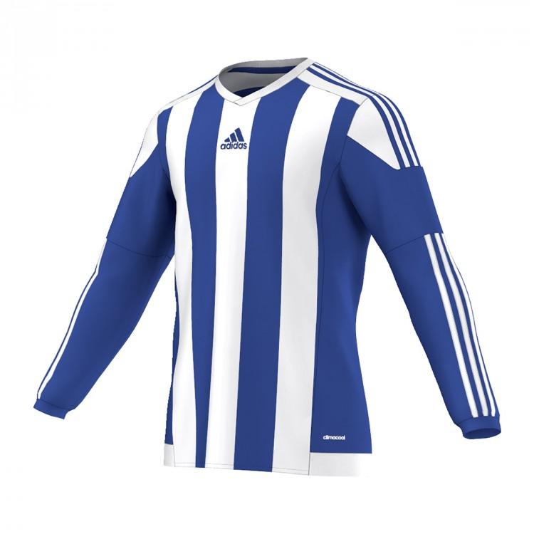 dad62a8c1 Jersey adidas Striped 15 m l Royal-White - Football store Fútbol Emotion